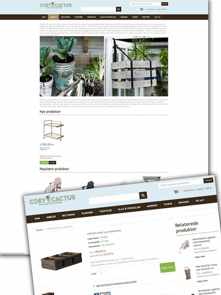 Screenshot af tidligere boligindretnings hjemmeside
