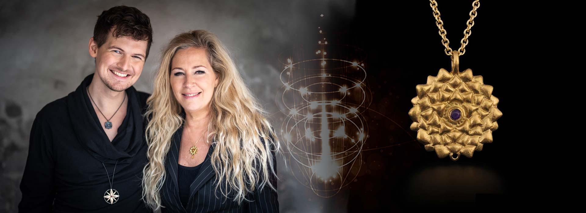 JetteHolm.dk grafisk slider til chakra smykker af Mads Heindorf og Jette Holm