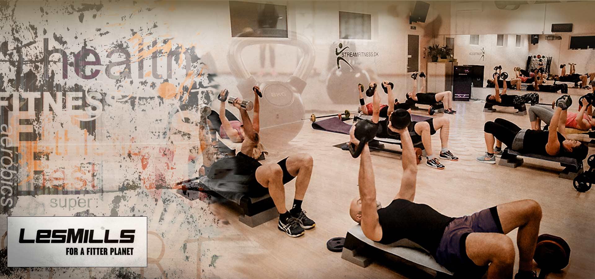 MyGym Fitnesscenter grafisk slider til hold
