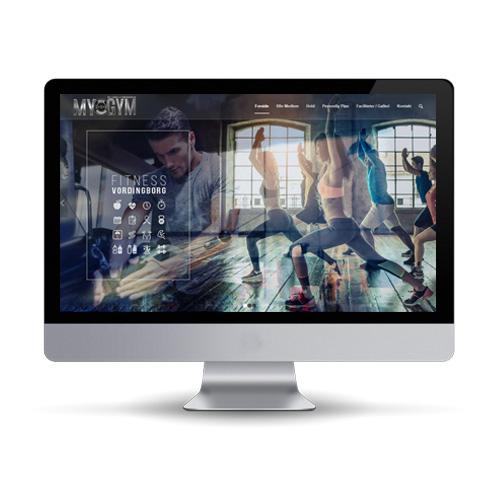 Hjemmeside design, opbygning og installeret på Enfold Wordpress
