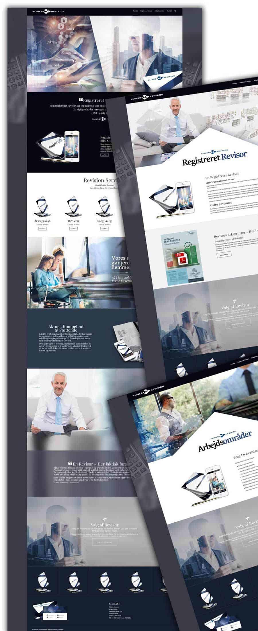 Nogle screenshots af ny sider