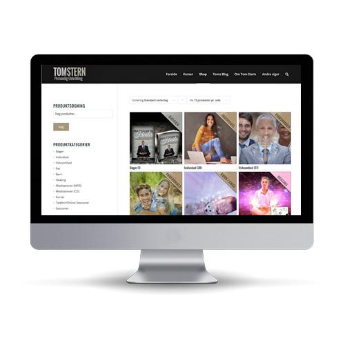 Woocommerce webshop til personligudvikling